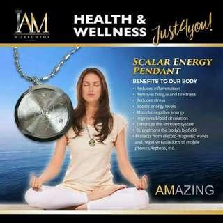 Scalar Energy pendant Anti- radiation