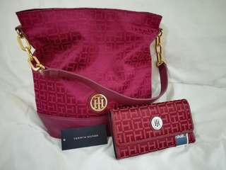 💯✔ Original Tommy Hilfiger Bag & Wallet