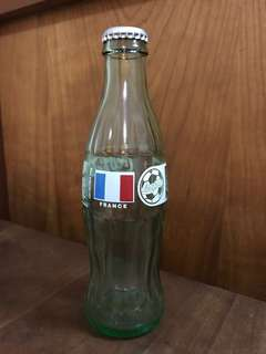 1998 World Cup france limited edition Coca Cola bottle COLLECTORS ITEM