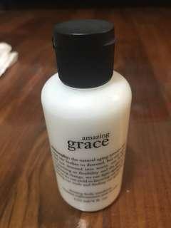New! Philosophy Amazing Grace Firming Body Emulsion