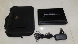 Notebook Aspire One D255 + Bonus tas!
