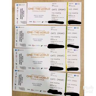 WTS Wanna One ticket