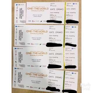 WTS Wanna One ticket