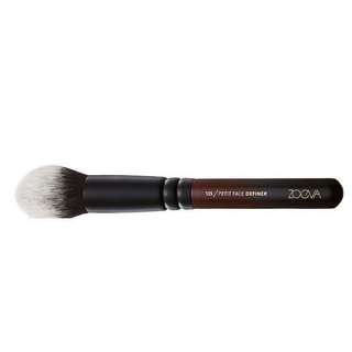 NEW zoeva limited edition burgundy ombré 135 petit face definer brush