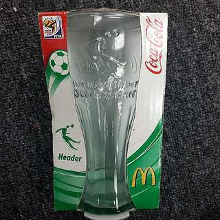 Coca Cola Glass Cup 2010 FiFa World