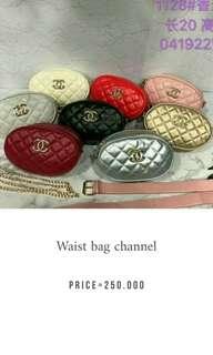 channel waist bag