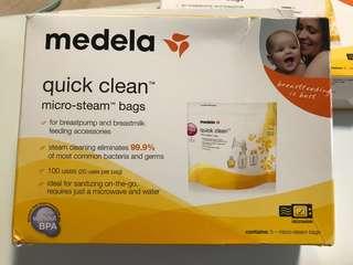 Medela 微波爐消毒袋