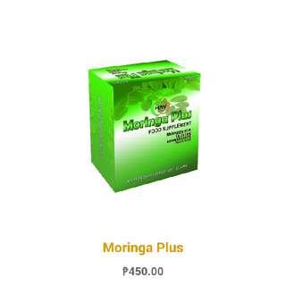 Moringa Plus | Moringa Capsules w/ Folic Acid & Taurine