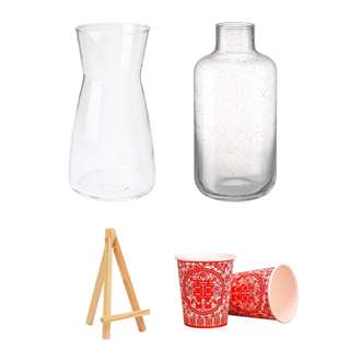 Wedding Decoration - Vases, Candle Holders and etc.