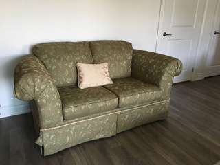 Gently used love seat
