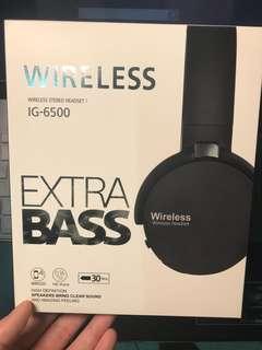 🚚 質感黑 藍芽頭戴耳機 有牌 代購多買