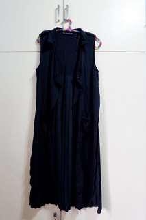 ZARA Basic Collection Long Sleeveless Blazer Dress