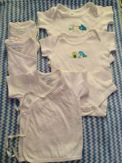 Mothercare Onesies and Tie Sides