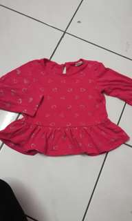 Blouse Pink Size 2-3y
