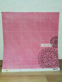 Amy Tangerine 'Rise & Shine: Lily' Scrapbooking Paper