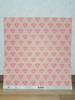 Maggie Holmes 'Shine: Lovely' Scrapbooking Paper
