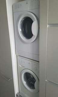Indesit washing machine and dryer