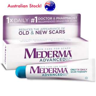 Mederma Advanced Scar Gel Cream Treatment 20g - Skin Care For Old & New Scars
