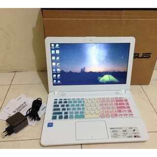 Laptop Asus X441SA Celeron Ram 2GB Hdd 500GB Mulus Fullset