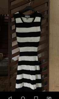 Mint Open-back Knitted dress
