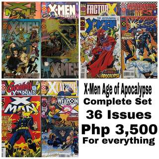 Complete X-Men Age of Apocalypse