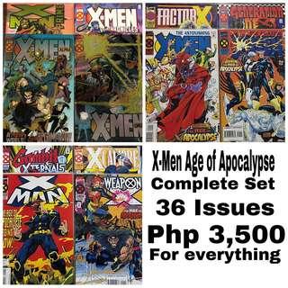 Complete X-Men Age of Apocalypse
