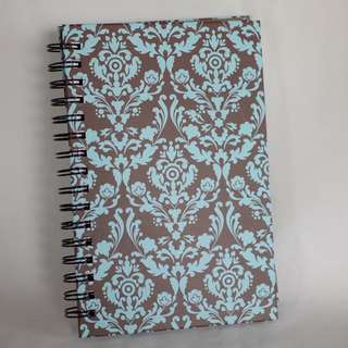 Spring notebook, summer design, quality paper, hardbound cover