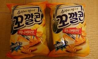 🚚 韓國餅乾兩包