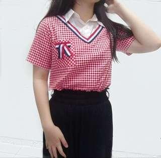 korean red top
