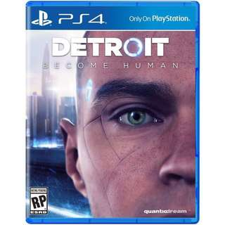 [BRAND NEW] PS4 Detroit: Become Human