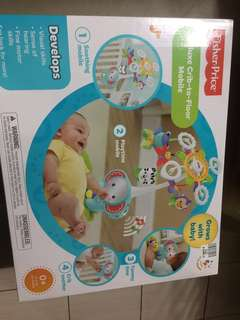 Fisher price Deluxe crib to floor