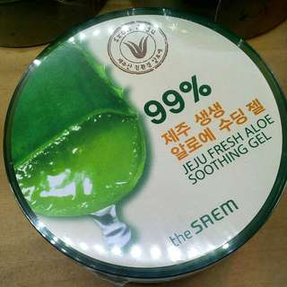 99% Jeju fresh aloe soothing gel