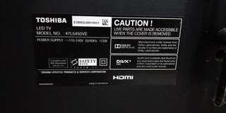 Toshiba tv usb fault code