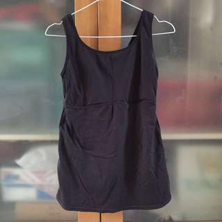 maidenform black tanktop for body shaping