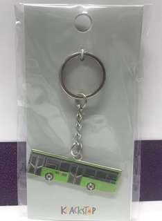 Knackstop Singapore bus key chain