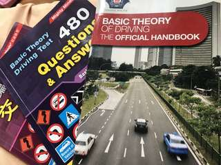 🚚 Basic theory of driving official handbook (ENG/CN) / 480 questions & answers