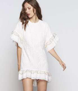 Stevie May Huxley Dress, Lace, White, boho