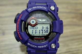 100% Authentic new Casio G-Shock Men In Navy Frogman GF-1000NV-2 Watch Full Set Made in Japan limited edition