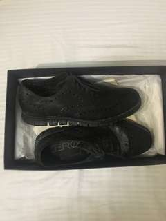 Cole Haan Zerogrand Wingtip Oxford Shoes Black/Black
