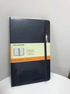 Moleskine Ruled Notebook - 13x21cm BN