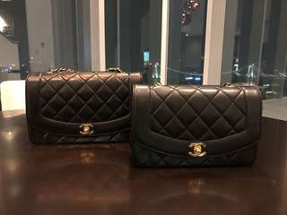 Chanel Vintage Diana 25cm 95% new