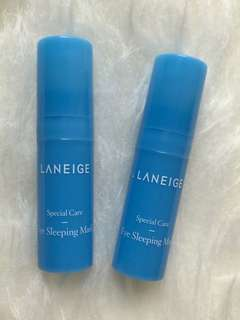 Laneige eye sleeping mask travel size 5 ml