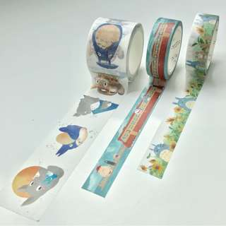 Japanese Characters Washi Tape