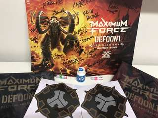 DEFQON 1. Tickets w/ FREE MERCH