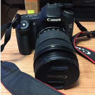 Canon 70D 連 18-135mm lens