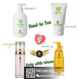 Wowo Hair and Body Care Series Bundle