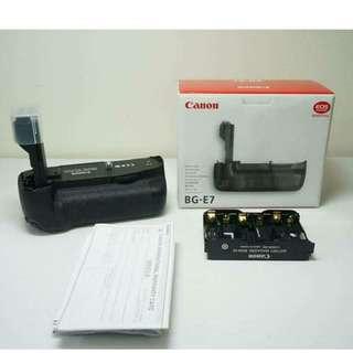 Canon BG-E7 (👑ORIGINAL👑), for EOS 7D