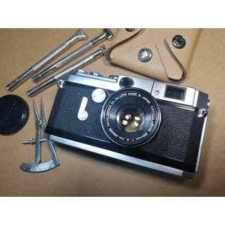 Canon VL2 w. Canon 35mm f2 ltm l39 leica