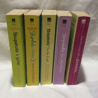 Shopoholic Series by Sophie Kinsella