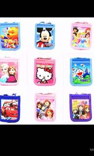 PO kids landyard card holders/money holder brand new